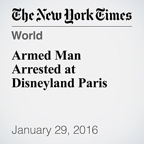 Armed Man Arrested at Disneyland Paris  cover art