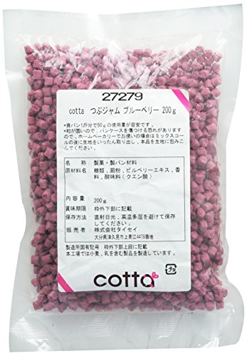 cotta(コッタ) つぶジャム ブルーベリー 200g