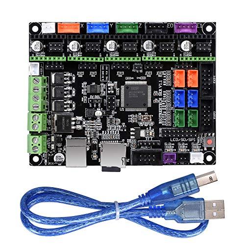 Placa de control de 32 bits para impresora 3D SKR V1.1, con código abierto Marlin 2.0, compatible con TMC2130 TMC2208 y 12864 LCD