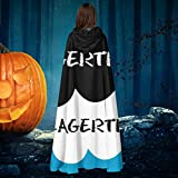 AISFGBJ Vikings Lagertha Fault In Our Stars Mix - Disfraz de bruja con capucha para Halloween