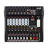 Italian Stage IS 2MIX8PRO - Mesa de mezclas de audio estéreo (8...