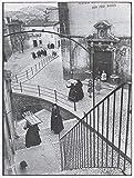 405 henri cartier bresson aquila degli abruzzi 1952 b1869 A3 Poster - Papel fotográfico grueso brillante (16.5/11.7 inch)(42/30 cm) - Película Decoración de pared Arte Actor Actriz Regalo Anime Auto