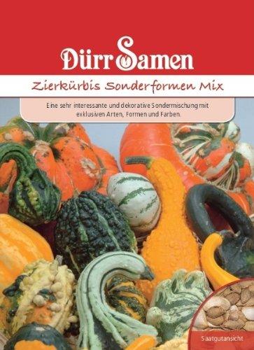 Dürr Samen 1111 Zierkürbis Sonderformen Mix (Zierkürbissamen)