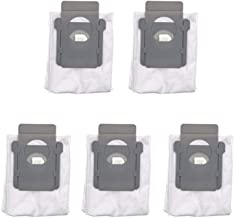 APMIXI 5 Pack Replacement Automatic Dirt Disposal Bags Supplement Compatible Fit for Irobot Roomba i7 i7 + i7 + E5 E6 Vacuum Clean Base
