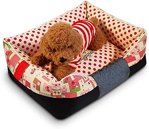 UIZSDIUZ Haustierbett Hundebett Haustier, for mittelgroße Hunde, abnehmbare Abdeckung der Maschine waschbar Leicht zu reinigen, Katzenbett (Color : Style1, Size : XL(94×74×25cm/40kg))