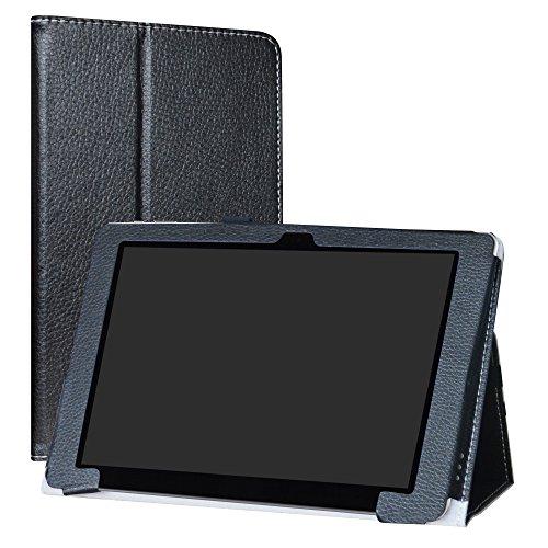 "CHUWI Hi10 Plus / VI10 Plus Funda,LiuShan Folio Soporte PU Cuero con Funda Caso para 10.8"" CHUWI Hi10 Plus / VI10 Plus Windows 10 Tablet,Negro"