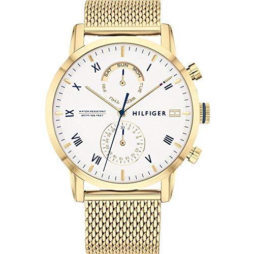 Tommy Hilfiger Herrenuhr Dressed UP Multifunktion 1710403