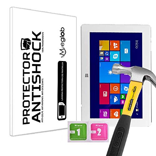 Antishock Protector de Pantalla Anti-Shock Anti-Golpe Anti-arañazos Compatible con Tablet Onix 101 Wintel