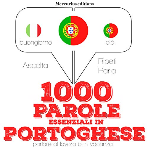 1000 parole essenziali in Portoghese audiobook cover art