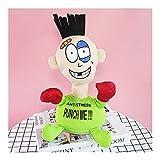 Z-Color Descompresión y ventilación de Escritorio Boxeo Bostezando Punch Muñeca Oficina Toys Tricky Spoof para aliviar el aburrimiento (Color : Green)