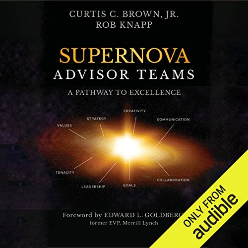 Supernova Advisor Teams audiobook cover art