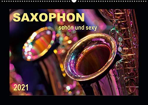 Saxophon - schön und sexy (Wandkalender 2021 DIN A2 quer)