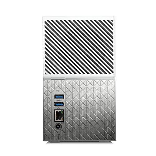 "Western Digital My Cloud Home Duo, Disco Duro Externo, LAN 3.5"", USB 3.0, 4 TB miniatura"
