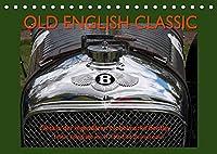 Old English Classic - Details der legendaeren Nobelmarke Bentley (Tischkalender 2022 DIN A5 quer): Detailaufnahmen verschiedener Bentley Oldtimer (Monatskalender, 14 Seiten )