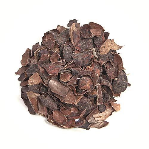 Herbis Natura Kakaoschalen geschnitten, Schalen der Kakaobohne, zur Zubereitung von Tee, aus kontrolliert biologischem Anbau, theobroma cacao (500 GR)