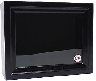 【オールブラックUVカット】【極小型】ドイツ型標本箱(黒)