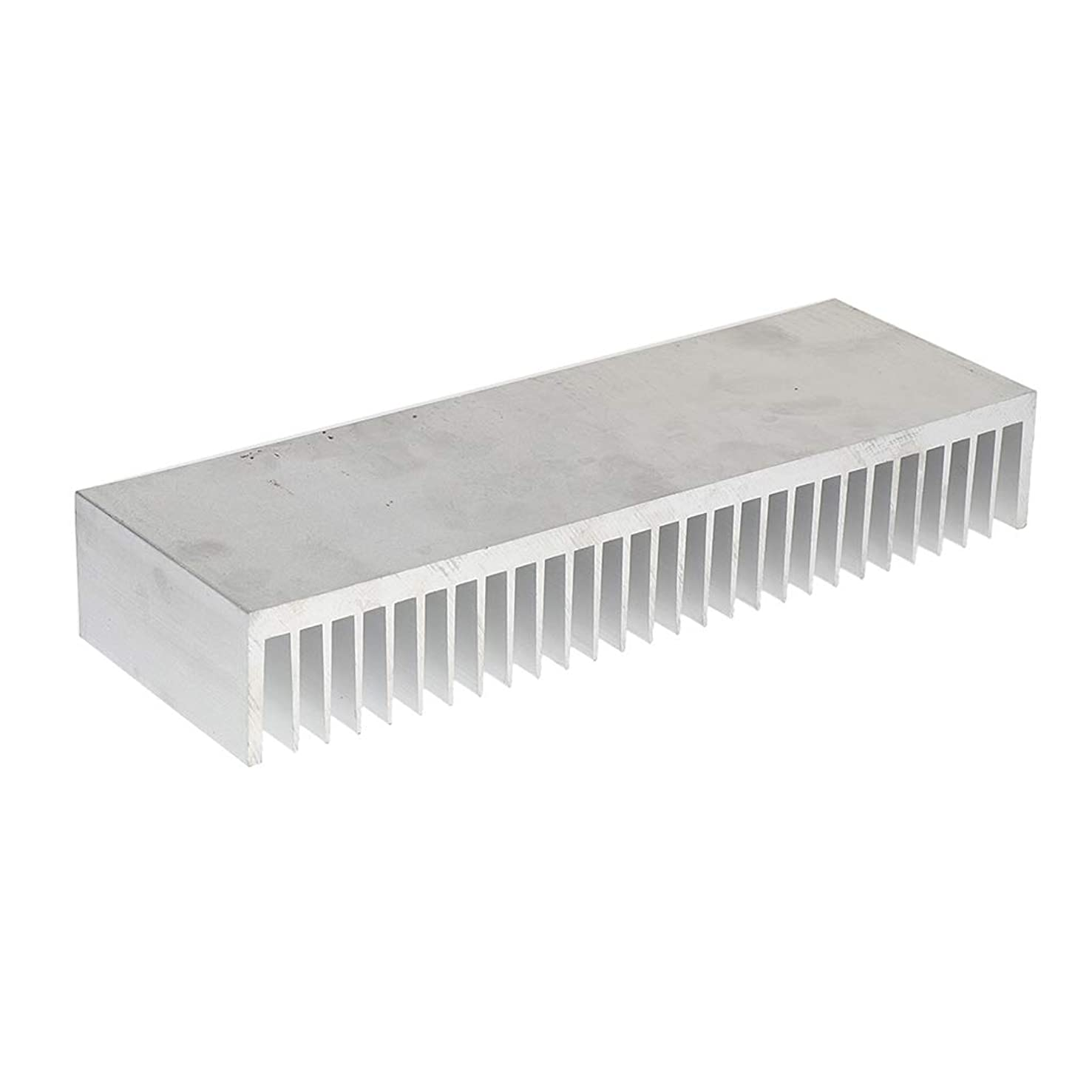 Flameer Aluminum Heatsink 100x300x50mm Cooling Radiator Cooler Transistor for 150W LED Heat Dissipation