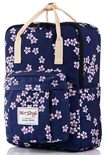 Un sac à dos stylé : le sac à dos fleuri Hot Style