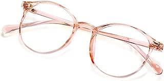 Blue Light Blocking Glasses For Women Men Anti Eyestrain Computer Gaming Clear Lens Vintage Glasses Eyeglasses Frame