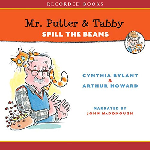 Mr Putter and Tabby Spill the Beans  audiobook cover art