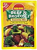 Sun-Bird BEEF & BROCCOLI Asian Seasoning Mix 1oz (10-pack)