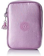 Kipling 100 Stylo Luggage Metallic Berry