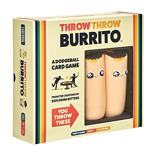 Throw Throw Burrito by Exploding Kittens - A...