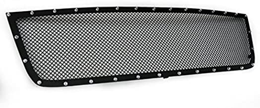 ZMAUTOPARTS For Chevy Silerado 15Hd/25Hd/35 Front Upper Rivet Stainless Mesh Grille