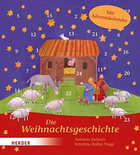 Die Weihnachtsgeschichte: Mit Adventskalender