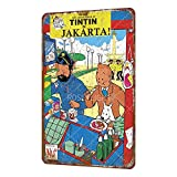Rose Flight The Adventures of Tintin In Jakarta Vintage