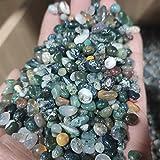 YSJJAXR Piedra de Cristal Natural 100 g de mar Grava Natural Plantas acuáticas ágata Grava Peces Tanque Maceta decoración Decoración hogareña (Size : 500g)