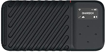GNARBOX 2.0 SSD (1TB) - Rugged Backup Device for Your Camera