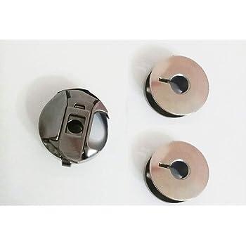 Canillero Cerrado + 2 canillas metalicas para máquinas de Coser ...
