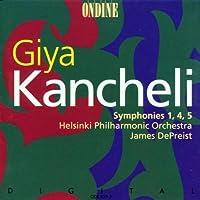 Kancheli: Symphonies Nos. 1, 4 & 5
