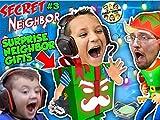 Hello Neighbor Surprise Gifts! Secret Neighbor Pt. 3 (Christmas Map)