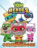 Rainbow Joy! - Talking Tom Heroes Coloring Book: Ages 2-13+ Adorable Gift For Children, Kids, Kindergarten, Preschool,...
