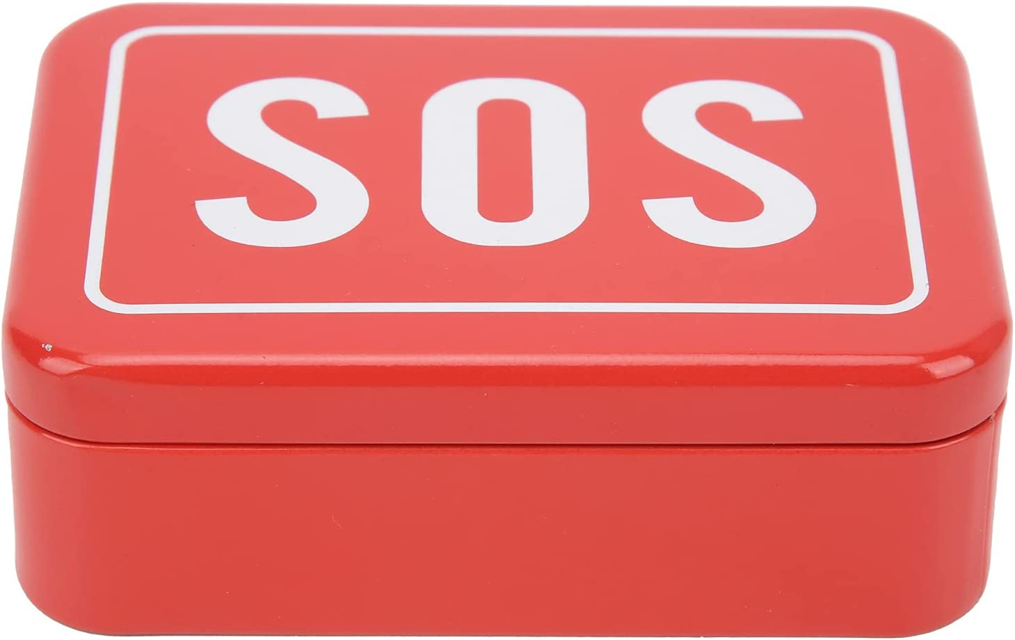 mart 01 SOS Case Portable Stainless Mutiple-use Classic Steel Lifesaving Box