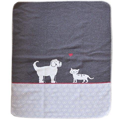 David Fussenegger 62599879 Haustierdecke Hund und Katz, 70/90 cm