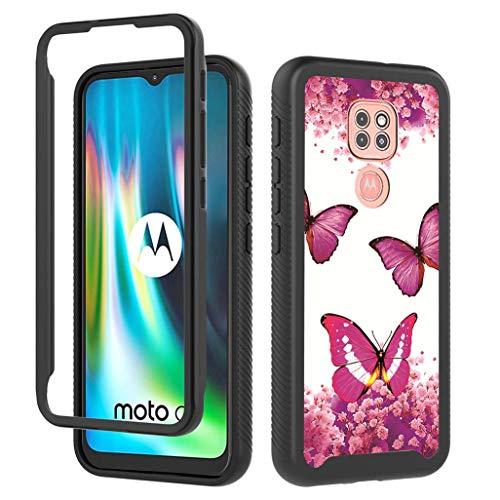 GOGME Funda para Motorola Moto E7 Plus, 360 Grados Protector Antigolpes [Ultra...