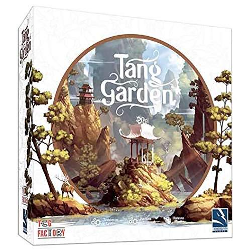 TCG FACTORY TCGTANG001 TANG GARDEN Juego de mesa para 1 a 4 jugadores a partir de 14 años de edad. Incluye 12 miniaturas y múltiples elementos en 3D