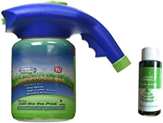 Garden Lawn Mousse Household Hydro Seeding System Liquid Spray Device For Seed Lawn Care Tools Including Liquid,Ships From...