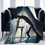 KEROTA Gratis Guy Manta Ryan Reynolds Manta Aire Acondicionado Manta Estudiante Suave Impresión Térmica Manta Niños/Adultos