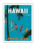 Jet Clippers to Hawaii–Pan American Airlines