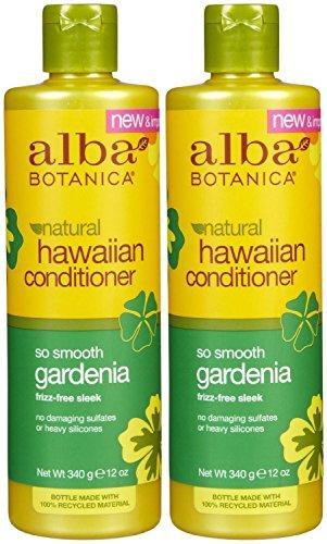 Alba Botanica Gardenia Hydrating Hair Conditioner, 12-Ounce Bottle (Pack of 2) by Alba Botanica