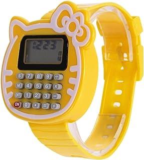 Orologio Bambino XYBB Orologio digitale in silicone con datario Orologio da polso con calcolatrice multiuso per bambini