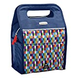 Rubbermaid LunchPak Insulated Freezable Lunch Bag, Small, Navy Pixel 2011817