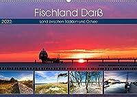 Fischland Darss - Land zwischen Bodden und Ostsee (Wandkalender 2022 DIN A2 quer): Streifzug ueber die Halbinsel Fischland Darss (Monatskalender, 14 Seiten )