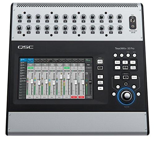 QSC TouchMix-8 Compact Digital Mixer with Bag