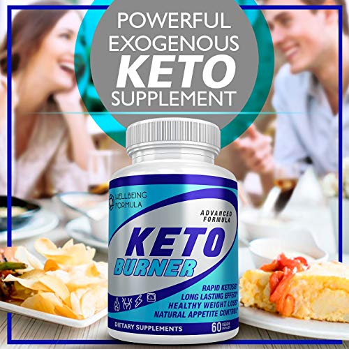 Keto Diet Pills-Natural Exogenous Ketones Supplement-Weight Loss Appetite Suppressant Keto Diet Pills That Work Fast for Women and Men-Perfect Keto Fat Burner-Metabolism Booster for Fast Weight Loss 6