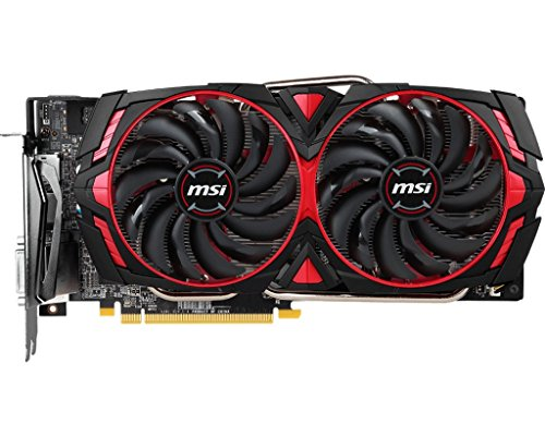 MSI RX 580 Armor MK2 8G OC Radeon RX 580 8GB GDDR5 Tarjeta gráfica